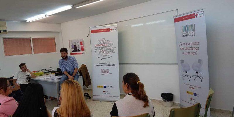 """Formación Efectiva y Cruz Roja Málaga, """"descubriendo el talento de las personas""""."""
