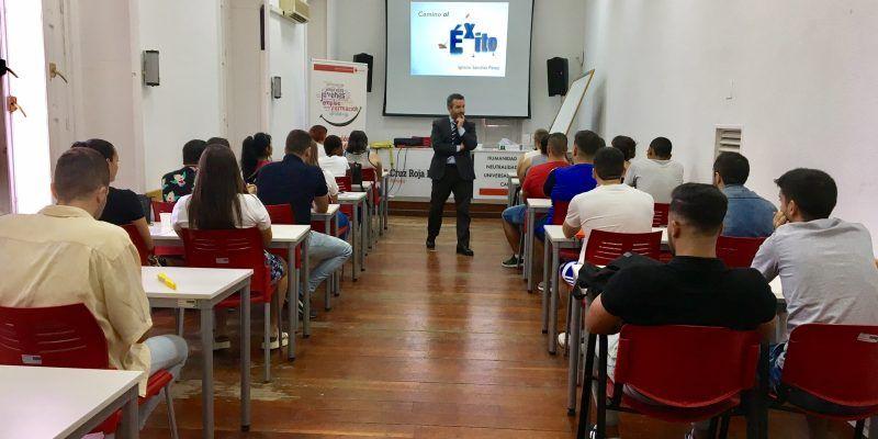 Compromiso Social por parte de OVB Allfinanz España y su consultor Ignacio Sánchez con el Plan de Empleo de Cruz Roja.