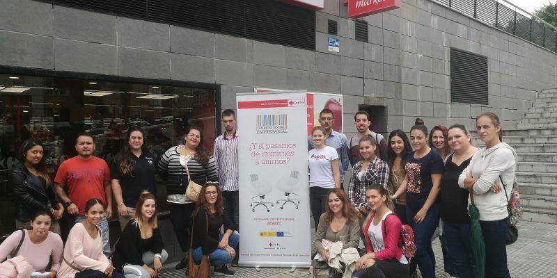 """""""Eficacia y eficiencia"""" Competencias trabajadas por Carrefour Market Huelva III Los Litris y Cruz Roja Española."""
