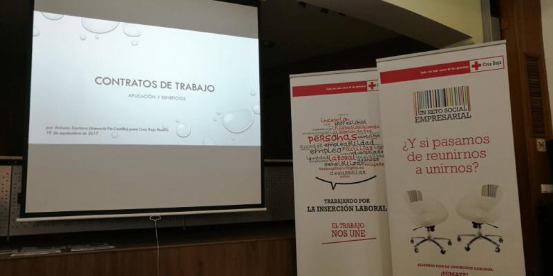 Asesoría Pie Castillo S.L, colabora con el Plan de Empleo de Cruz Roja en Huelva.