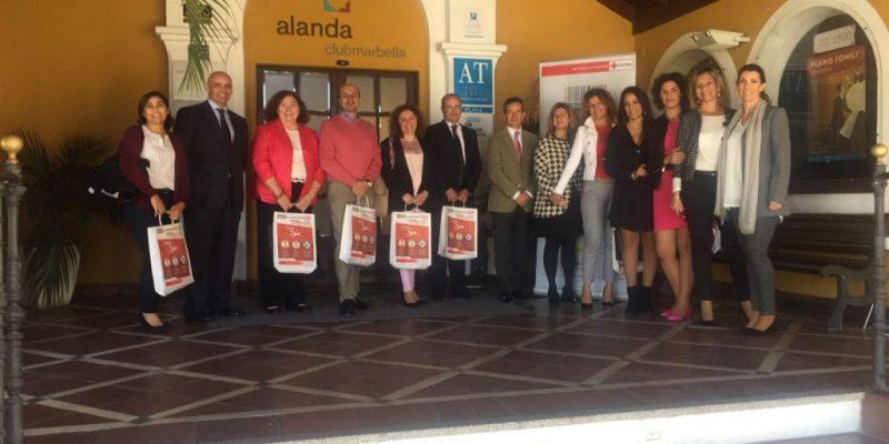 Mesa de Trabajo organizada por Cruz Roja Málaga sobre Gestión de la Diversidad.