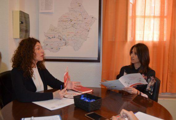 Diputación de Almería y el Plan de Empleo de Cruz Roja, coordinadas por la mejora de la empleabilidad de las personas