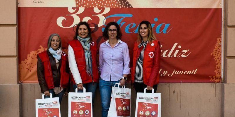 """La Campaña """"Contrata SIN"""" de Cruz Roja Española, presente en la Feria del Libro de Cádiz 2018"""