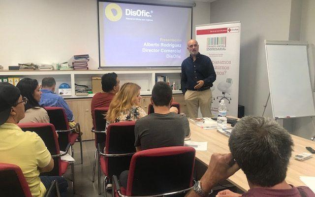 Firme apuesta de la empresa Disofic por la mejora de la empleabilidad de las personas en Málaga