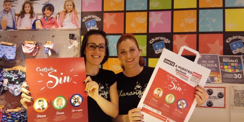 Noche en Blanco en Almería y Comercios comprometidos con la Campaña Contrata SIN