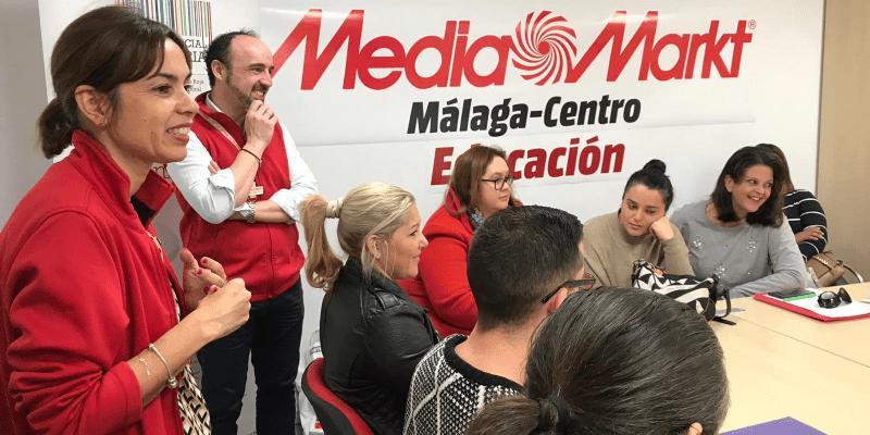 Cruz Roja Española y Media Markt Málaga, unidas para conseguir el Reto Social Empresarial.