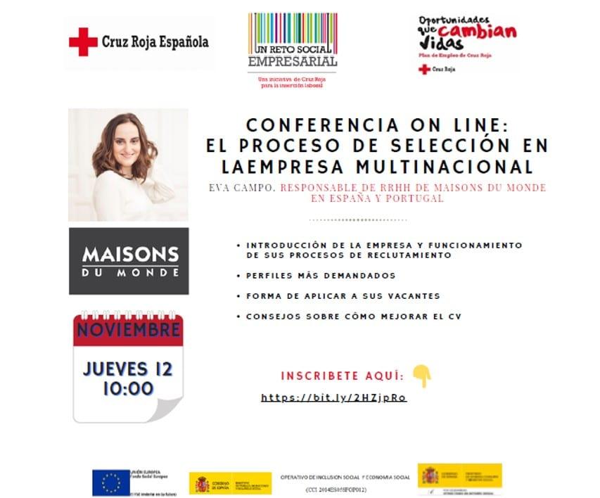 """Conferencia Virtual: """"El proceso de selección en la empresa multinacional"""""""